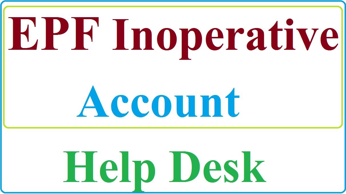 epf inoperative account